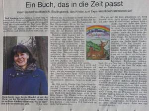 Wetterauer Zeitung vom 16.3.2015